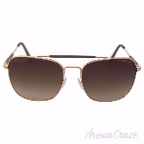 Tom Ford FT0377 Edward 28K Rose Gold Sunglasses for Men 58-1