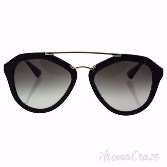 Prada SPR 12Q 1AB-0A7 Black/Grey Gradient Sunglasses for Wom