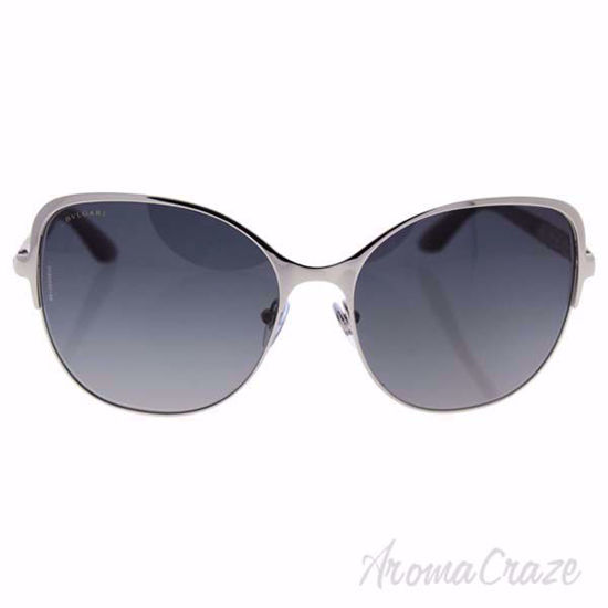 Picture of Bvlgari BV6078KB 394/T3 Silver Plated/Grey Gradient Polarized for Women 57-16-135 mm Sunglasses