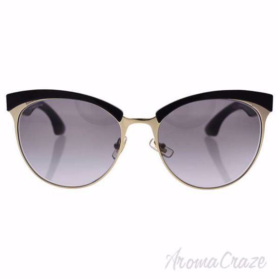 Miu Miu MU 54Q 1AB-3E2 - Black Gold/Grey Gradient by Miu Miu
