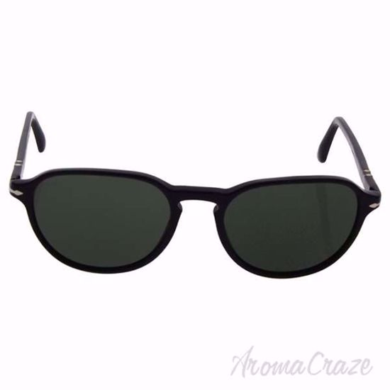 Persol PO3053S 9014/31 - Black/Green by Persol for Men - 54-