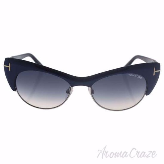 Tom Ford FT0387 Lola 89W - Navy Blue/Blue Gradient by Tom Fo