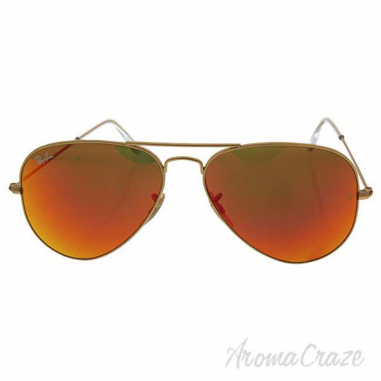 Ray Ban RB 3025 112/69 Aviator Large Metal - Gold Matte/Oran