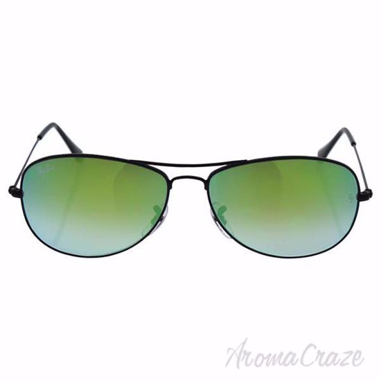 Ray Ban RB 3362 002/4J Cockpit - Black/Green Gradient Flash