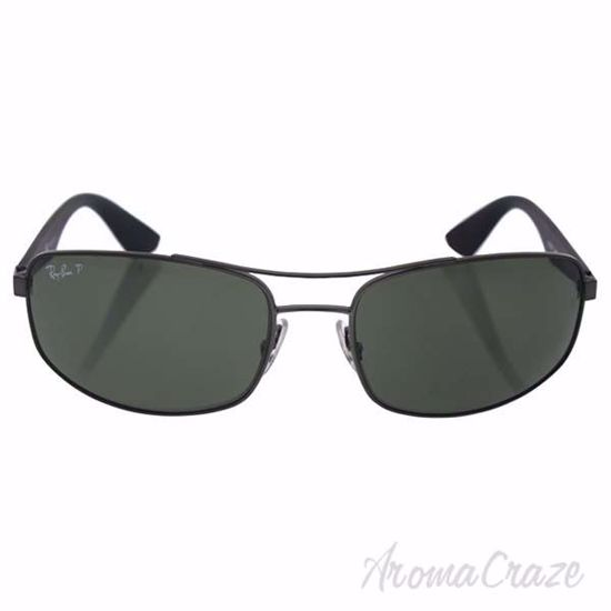 Ray Ban RB 3527 029/9A - Glumental-Black/Green Polarized by