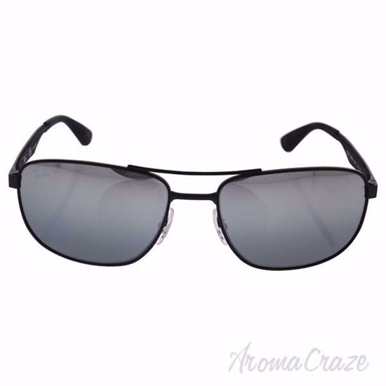 Ray Ban RB 3528 006/82 - Black/Silver Polarized by Ray Ban f