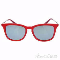 Ray Ban RJ 9063S 7010/30 - Red Gunmetal/Silver by Ray Ban for Kids - 48-16-130 mm Sunglasses