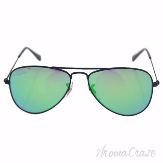 Ray Ban RJ 9506S 201/3R - Black/Green Flash by Ray Ban for K