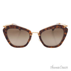 Miu Miu MU 10NS HAH1X1 - Havana/Beige by Miu Miu for Women - 55-24-140 mm Sunglasses