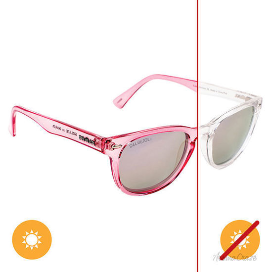 Picture of Solize Endless Harmony - Clear-Pink by DelSol for Women - 1 Pc Sunglasses