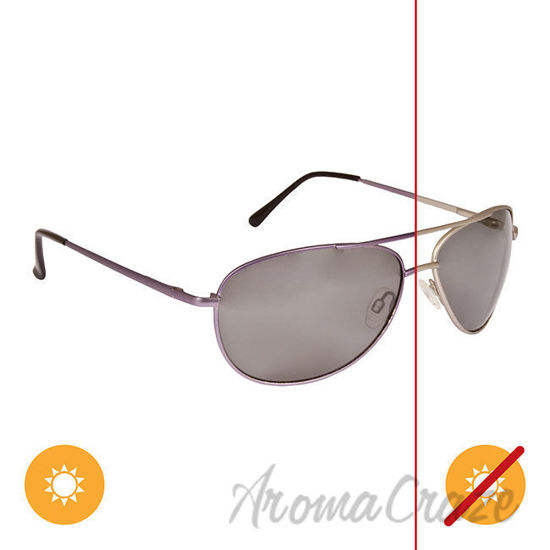 Picture of Solize Theres No Other - Silver to Graphite by DelSol for Unisex - 1 Pc Sunglasses