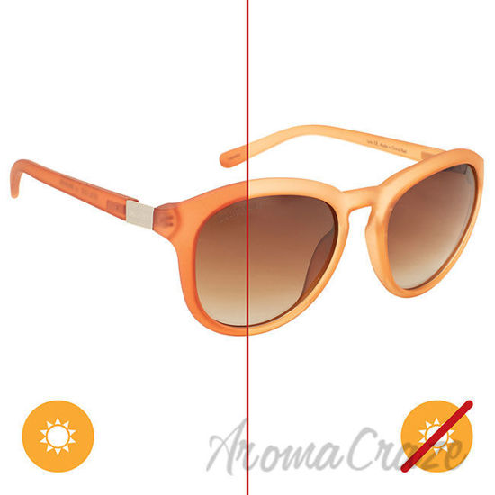 Picture of Solize Lola - Frosted Peach to Red by DelSol for Women - 1 Pc Sunglasses