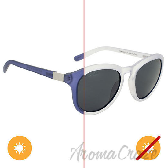 Picture of Solize White Rabbit - Frosted White to Purple by DelSol for Women - 1 Pc Sunglasses