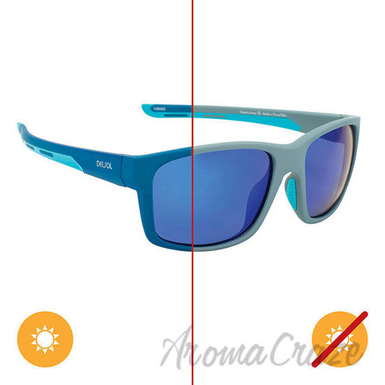 Picture of Solize Oceans Away - Gray to Dark Blue by DelSol for Men - 1 Pc Sunglasses