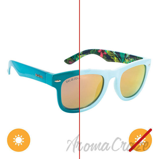 Picture of Solize Day Dream Believer - Light Green to Green by DelSol for Women - 1 Pc Sunglasses
