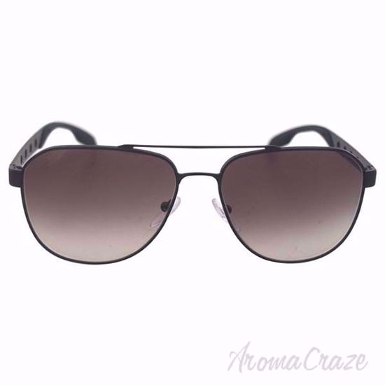 Picture of Prada PR 51RS 1BO0A7 Matte Black Sunglasses for Men 60-16-145 mm