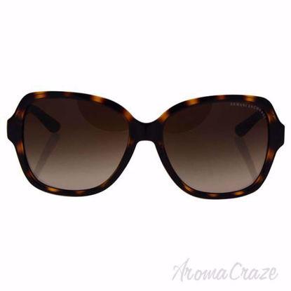 Armani Exchange AX 4029S 811713 - Dark Tortoise/Dark Brown G