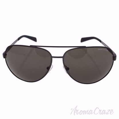 Armani Exchange Sunglasses AX 2017S 6086/73 - Matte Gunmetal/Brown, Sunglasses for Women