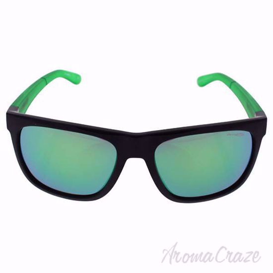 Picture of Arnette AN 4143 2245/3R Fire Drill - Black Green/Green by Arnette for Men - 59-18-135 mm Sunglasses