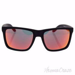 Arnette AN 4177 447/6Q Witch Doctor - Fuzzy Black/Fuzzy Neon Orange by Arnette for Men - 59-19-135 mm Sunglasses