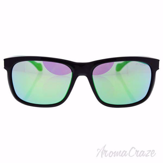 Arnette AN 4196 2241/3R Slacker - Black/Mirror Green for Men