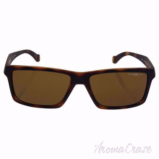 Picture of Arnette AN 4208 2152/83 Biscuit - Fuzzy Havana/Brown Polarized by Arnette for Men - 57-16-140 mm Sunglasses