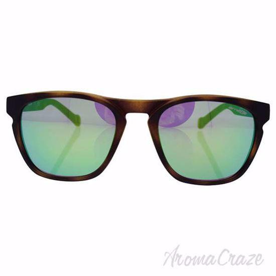 Arnette Sunglasses AN 4203 2152/3R Groove Fuzzy Havana/Green for Men