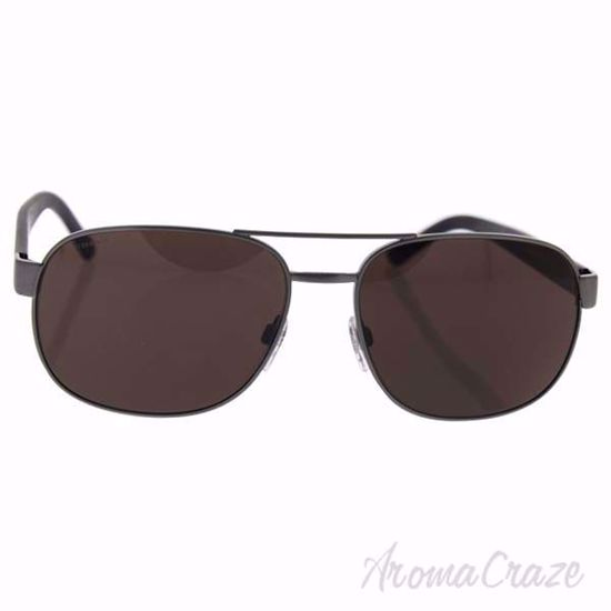Picture of Burberry Be 3083 1008/5W - Brushed Gunmetal/Dark Brown by Burberry for Men - 59-16-140 mm Sunglasses