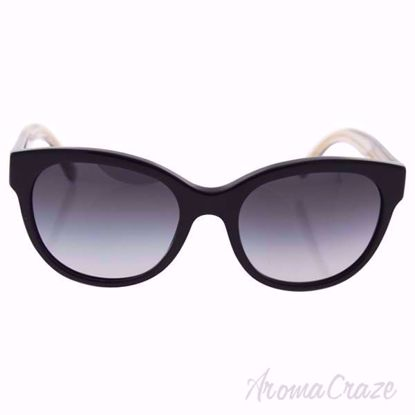 Burberry BE 4187 3507/8G - Black/Grey by Burberry for Women