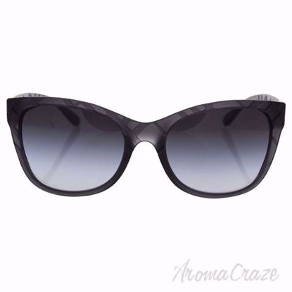 Burberry BE 4219 3581/8G - Matte Grey/Grey Gradient by Burbe