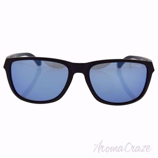 Arnette AN 4214 01/55 Straight Cut - Matte Black/Blue by Arn