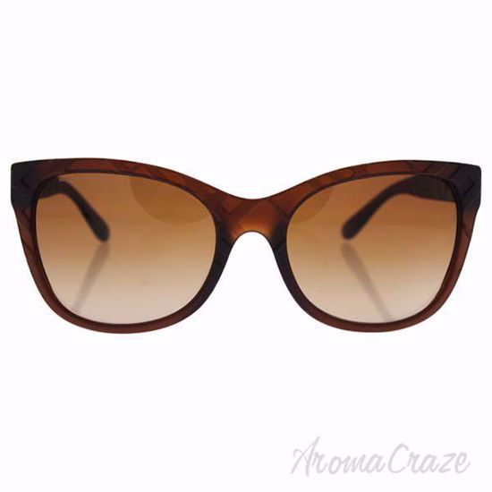 Burberry BE 4219 3583/13 - Matte Brown/Brown Gradient by Bur