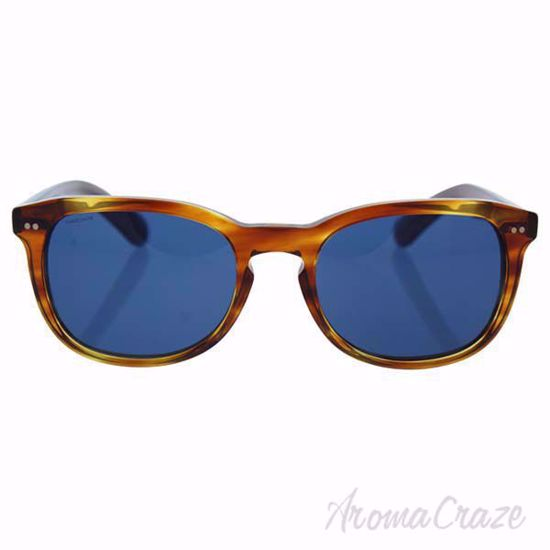 Picture of Burberry BE 4214 3550/80 - Amber Horn/Dark Blue by Burberry for Men - 55-20-140 mm Sunglasses