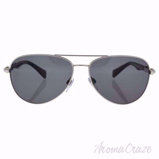 Picture of Bvlgari BV5036K 394/81 - Silver Plated/Grey Polarized by Bvlgari for Men - 60-14-145 mm Sunglasses