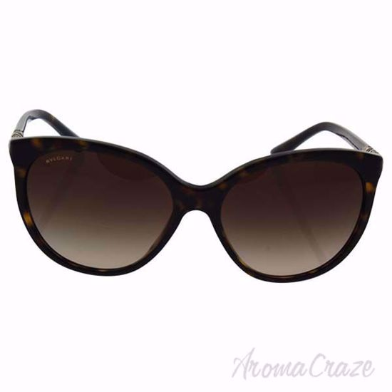 Picture of Bvlgari BV 8147-B 504/13 - Dark Havana/Brown Gradient by Bvlgari for Women - 57-16-140 mm Sunglasses