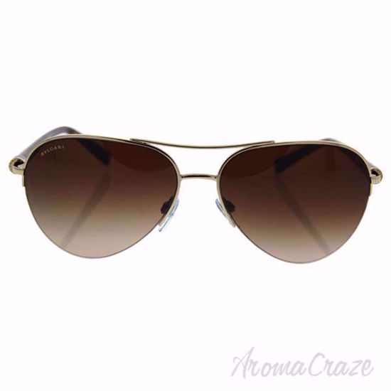 Picture of Bvlgari BV6084 278/13 - Pale Gold/Brown Gradient by Bvlgari for Women - 59-15-135 mm Sunglasses