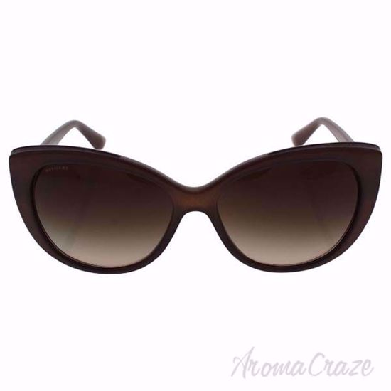 Bvlgari BV8157 BQ 1111/13 - Turtledove Brown/Brown by Bvlgar