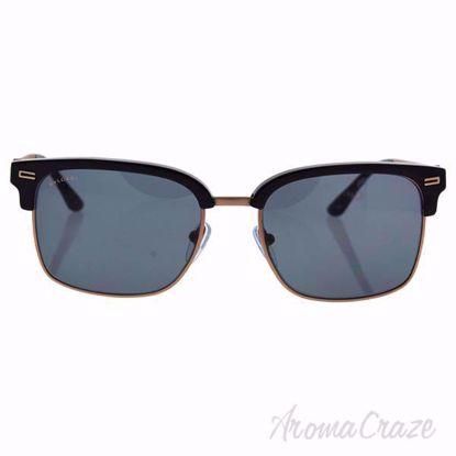 Picture of Bvlgari BV7026 501/81 - Black/Grey Polarized by Bvlgari for Unisex - 54-18-140 mm Sunglasses