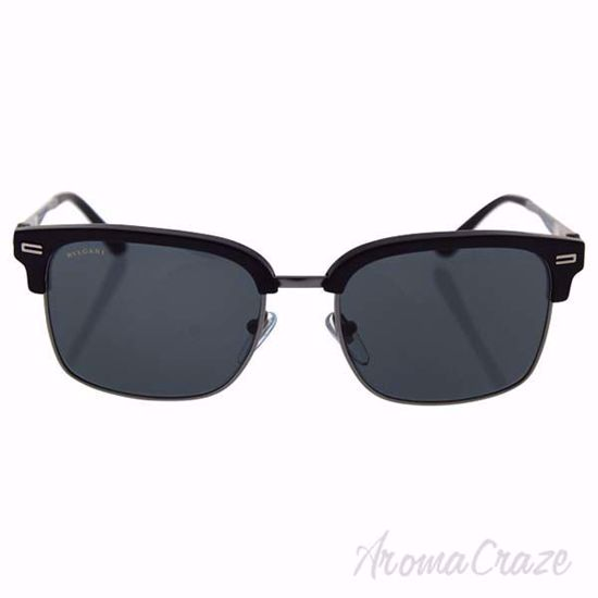 Bvlgari BV7026 5313/87 - Black Sand-Matte Gunmetal/Grey by B