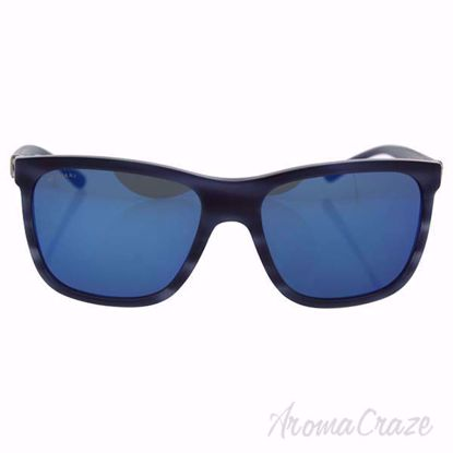 Picture of Bvlgari BV7027 5393/55 - Matte Striped Blue/Dark Blue by Bvlgari for Men - 57-17-140 mm Sunglasses