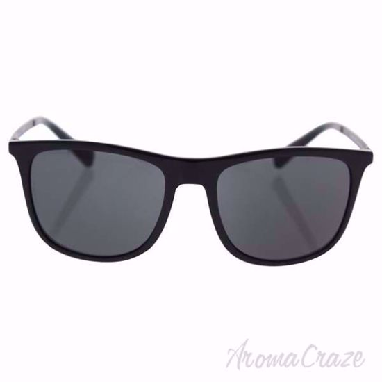 Picture of Dolce & Gabbana DG 6106 501/87 - Black/Grey by Dolce & Gabbana for Men - 55-18-145 mm Sunglasses