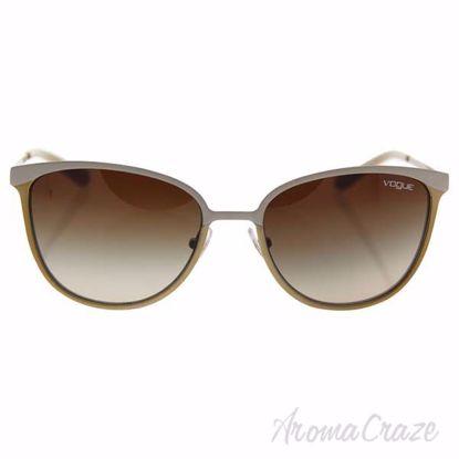 Vogue VO4002S 996-S/13 - Matte Beige Brushed Gold/Brown Grad