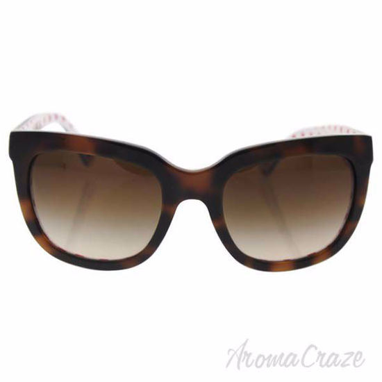Dolce and Gabbana DG 4197 2872/13 - Havana Red Dots White/Br
