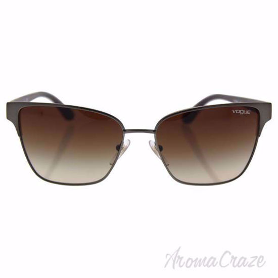 Vogue VO3983S 548-S/13 - Matte Brushed Gunmetal/Brown Gradie