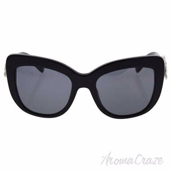 Dolce and Gabbana DG 4252 921/81 - Black/Polar Grey Polarize
