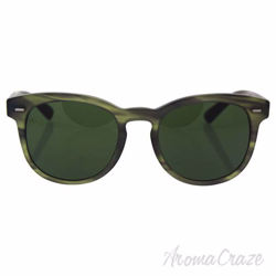 Dolce and Gabbana DG 4254 2965/71 - Matte Striped Olive Green/Grey Green by Dolce and Gabbana for Men 51-20-145 mm Sunglasses