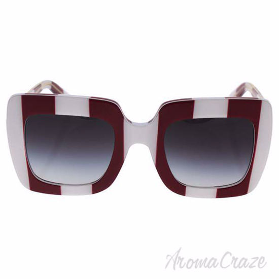 Dolce and Gabbana DG 4263 3024/8G - Stripe Red White/Grey Gr