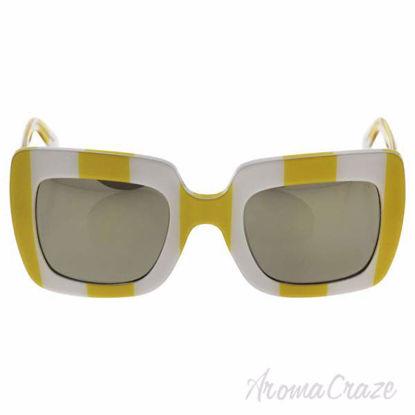 Dolce and Gabbana DG 4263 3025/5A - Stripe Yellow White/Ligh