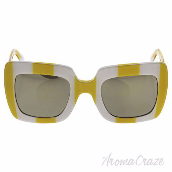 Dolce and Gabbana DG 4263 3025/5A - Stripe Yellow White/Ligh