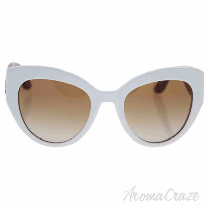 Dolce and Gabbana DG 4278 3039/13 - White/Brown Gradient by